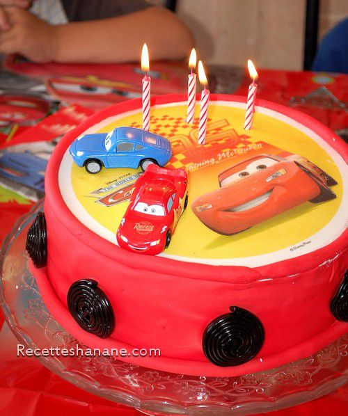 Gateau cars facile a faire