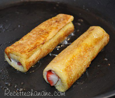 Pain Perdu Roule French Toast Roll Ups Recettes By Hanane