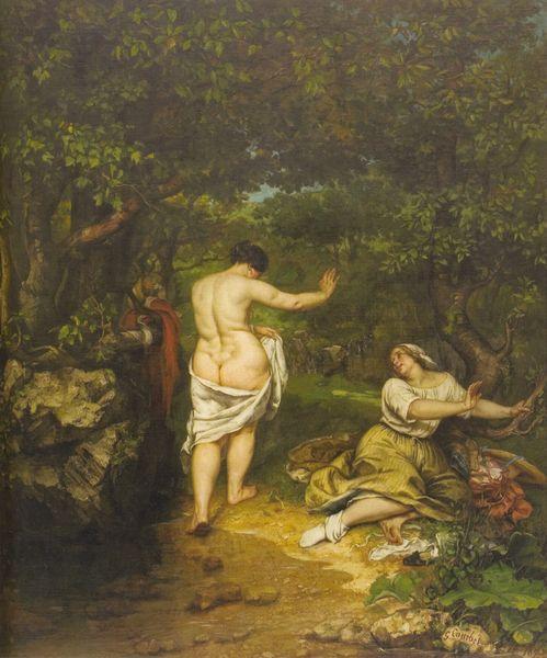 Les Baigneuses-Courbet