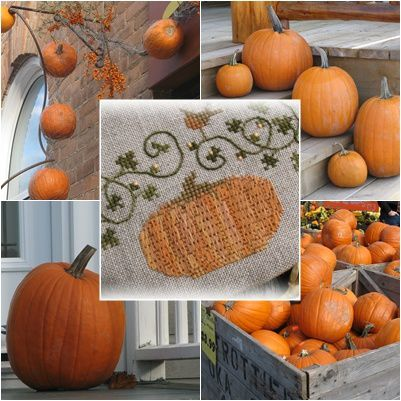 mosaique pumpkins