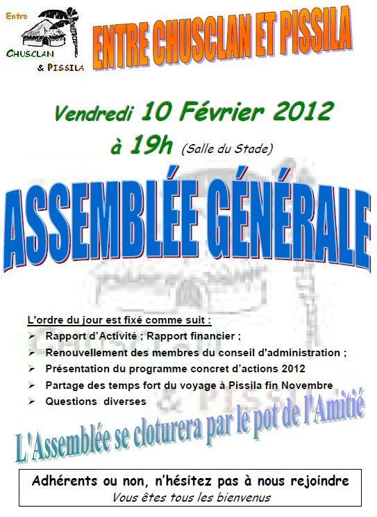 Affiche AG 2011