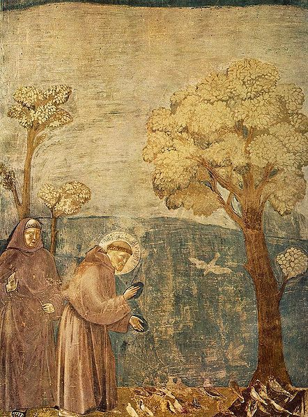 442px-Giotto_-_Legend_of_St_Francis_-_-15-_-_Sermon_to_the_.jpg