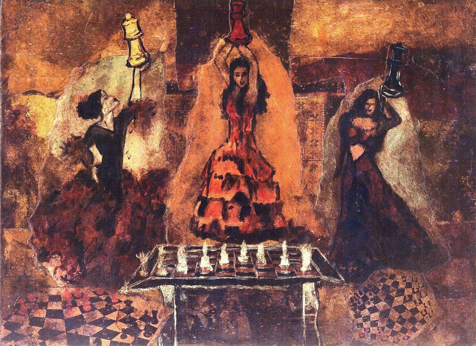 Quelques peintures de la période entre 2002 et 2008