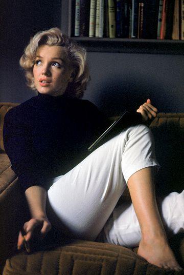 Marilyn Monroe pieds nus