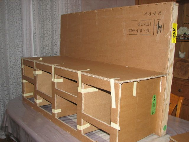 album meuble jouet jeux en carton kakinou cr ation. Black Bedroom Furniture Sets. Home Design Ideas