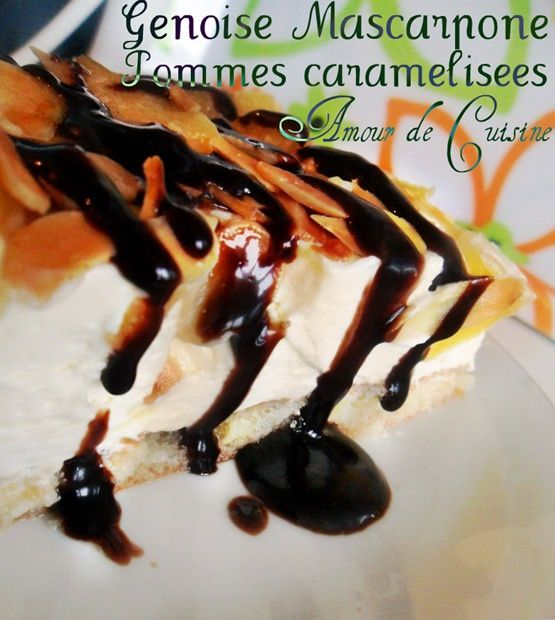 genoise mascarpone pomme caramilisee 027a