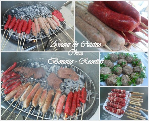 Une belle soiree barbecue bbq chez sihem amour de cuisine - Amour cuisine chez sihem ...