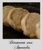 diamants aux amandes