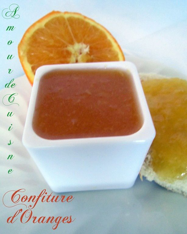 Good Recette Confiture D Orange Maison #1: Confiture Du0027oranges, Facile Et Rapide