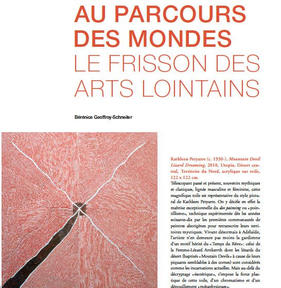 un article sur l 39 exposition d di e la peinture aborig ne au parcours des mondes 2013 le blog. Black Bedroom Furniture Sets. Home Design Ideas
