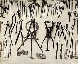 Museo di Napoli - Strumenti di chirurgia