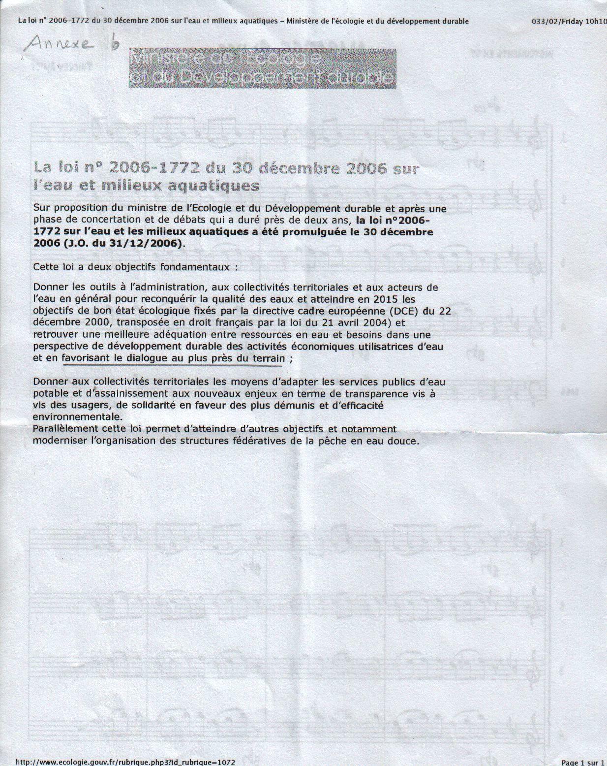 8 Loi dec 2006 s- l'eau (an.b)