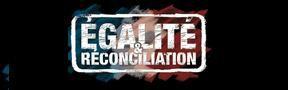 egalité et reonciliation banière