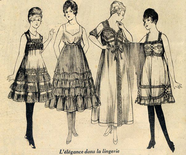 Copie de lingerie 1917
