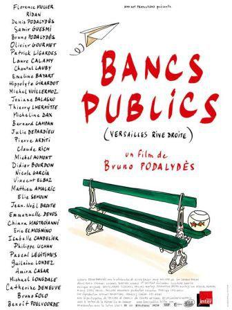 bancs publics affiche