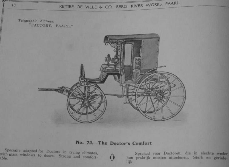 Album du carrossier Retief en lien avec l'article. Un constructeur de Cap...