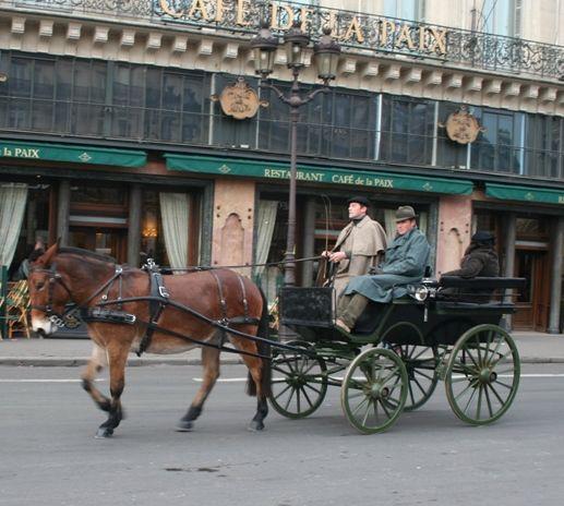 Défilé du salon du cheval 2010