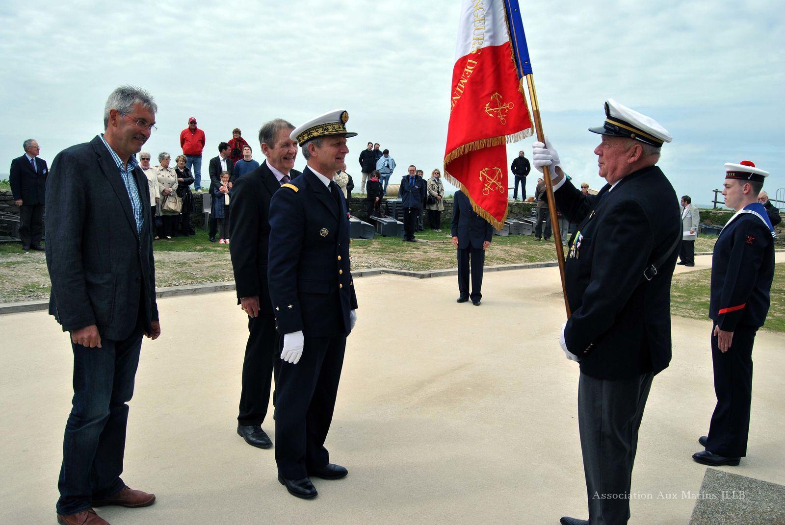 10 mai 2013-Inauguration de l'exposition et cérémonie consacrée à la mémoire des marins et des personnels civils de la frégate Laplace morts pour la France le 16 septembre 1950. Photographies : Jean-Luc Le Bris