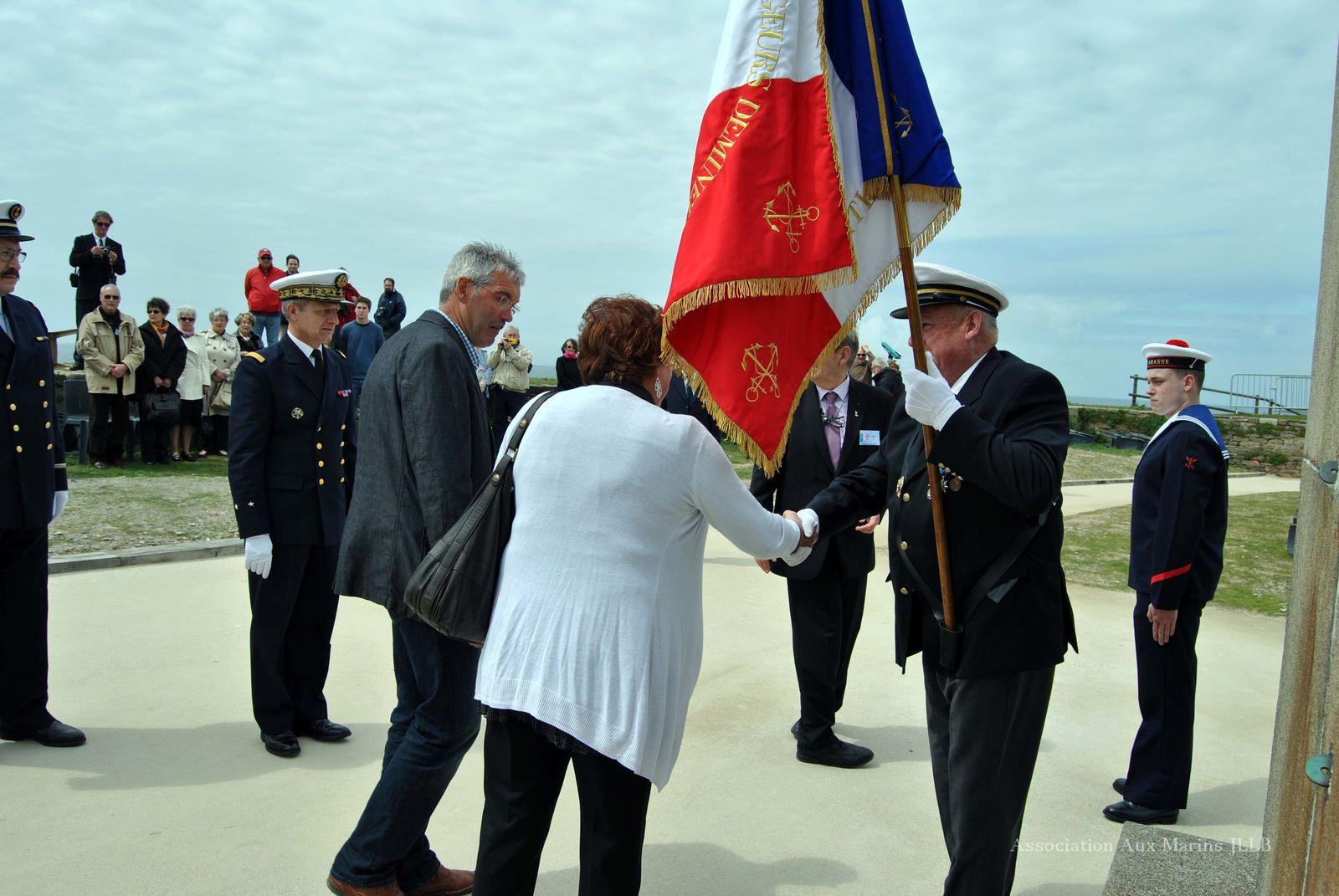 10 mai 2013-Inauguration de l'exposition et cérémonie consacrée à la mémoire des marins et des personnels civils de la frégate Laplace morts pour la France le 16 septembre 1950.Photographies : Jean-Luc Le Bris