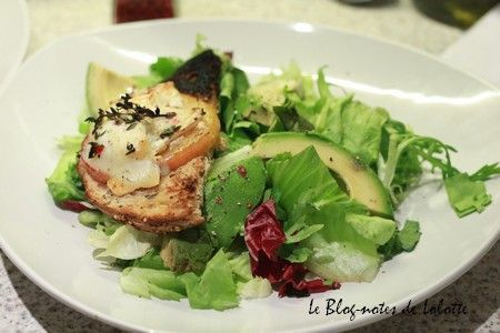 salade_toasts_recette