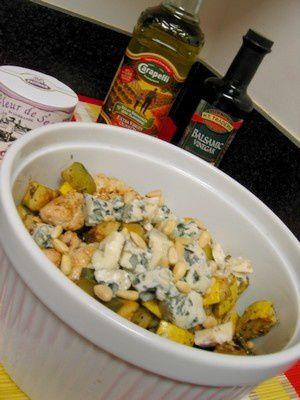 salade_courgette_poulet_sesame_roquefort_1