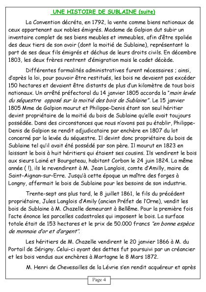 Courcerault infos n°6 p.4