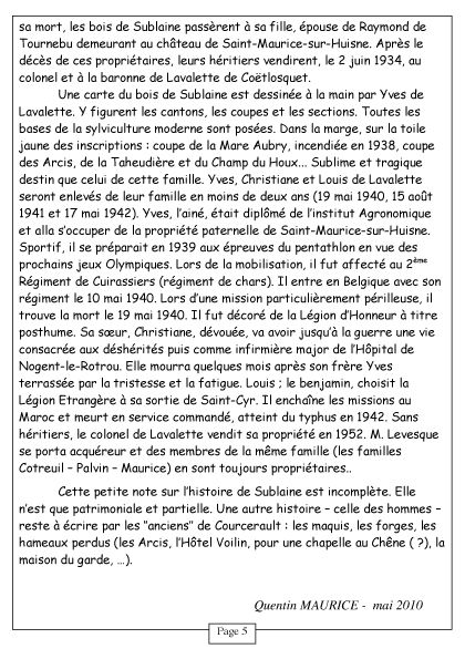 Courcerault infos n°6 p.5