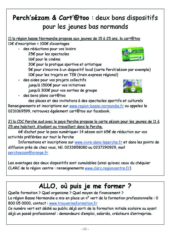 COURCERAULT INFOS N° 7 p11