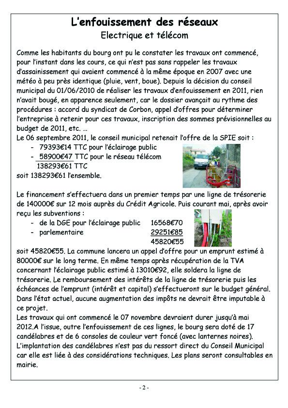 COURCERAULT INFOS N° 7 p2