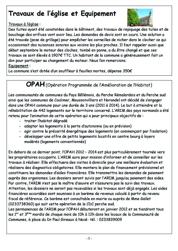 COURCERAULT INFOS N° 7 p3