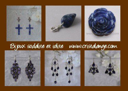 bijoux sodalite iolite cristalange