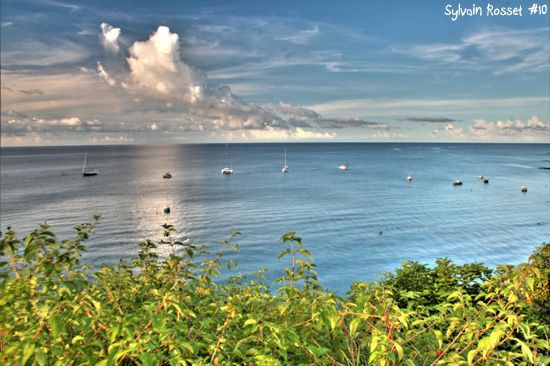 Paysage marin de Mayotte, photo HDR