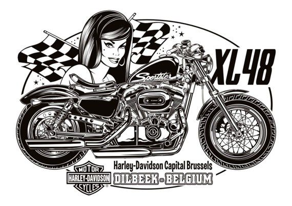 DVicente For Harley Davidson Capital Brussels  News