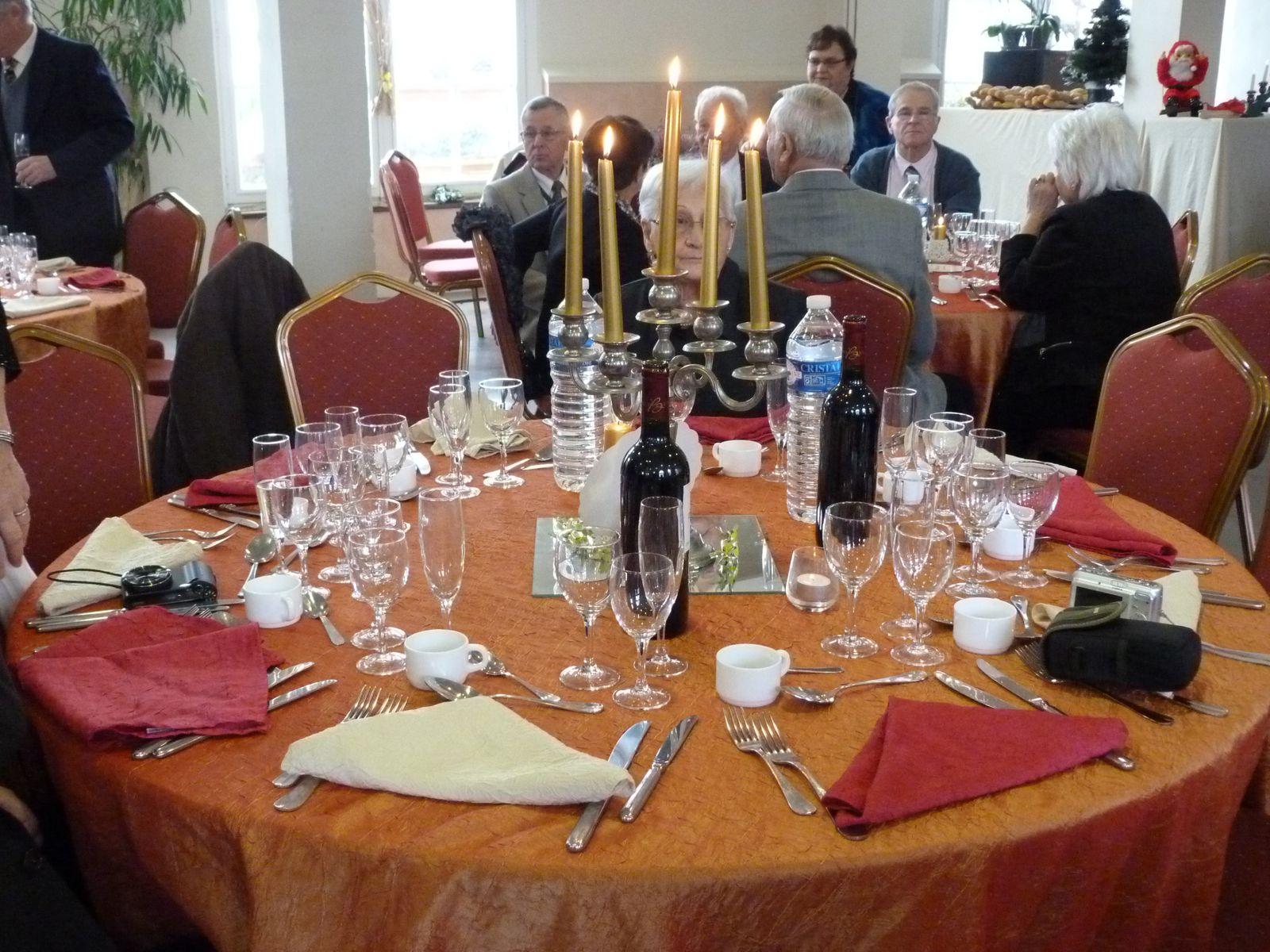 Album - Chantereine, l'Amicale des retraités de Chantereine, repas de fin d'année, 8 décembre 2013, (1ére partie)