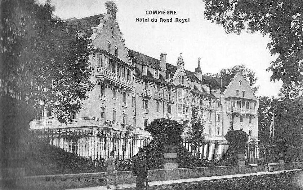 Album - la ville de Compiègne (Oise), les hôtels