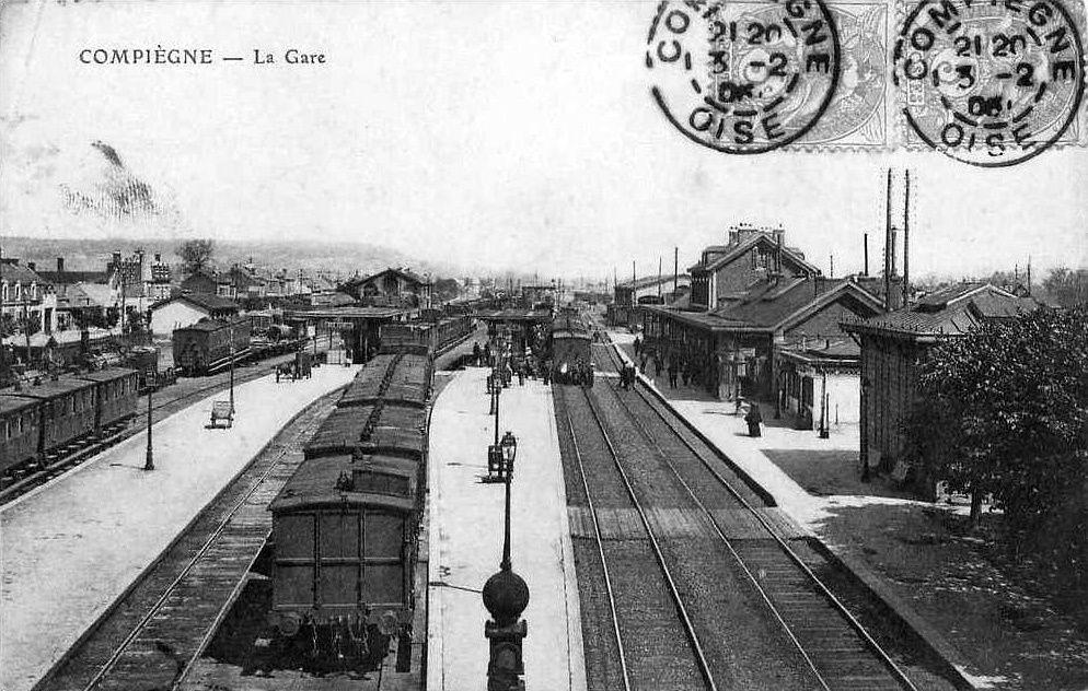 Album - la ville de Compiègne (Oise), la gare