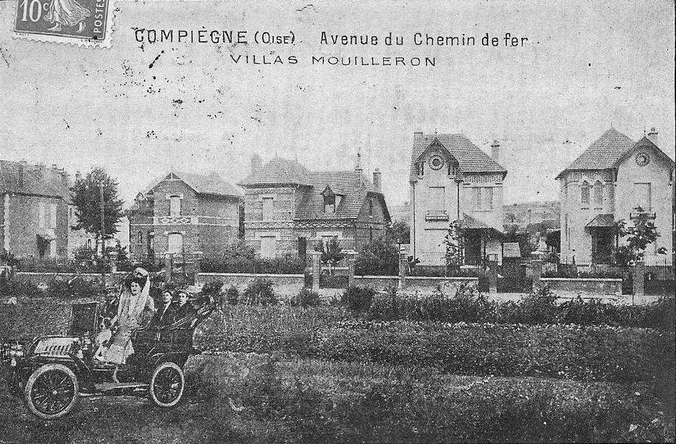 Album - la ville de Compiègne, (Oise), les avenues