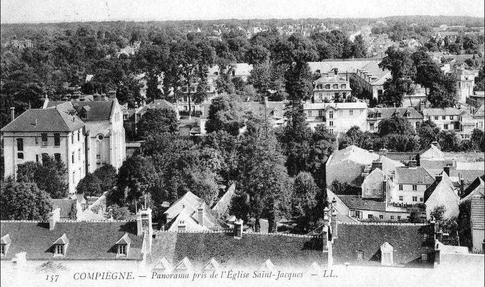 Album - la ville de Compiègne (Oise), vue générale