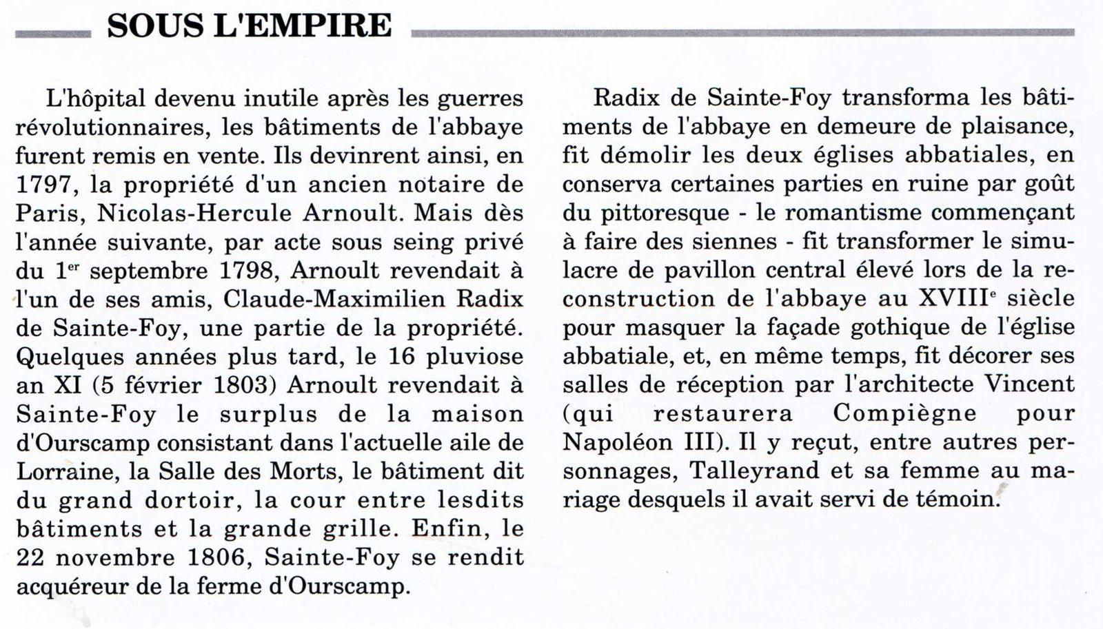 Album - le village de Chiry-Ourscamp, l'Abbaye Notre-Dame d'Ourscamp (Oise), son Histoire