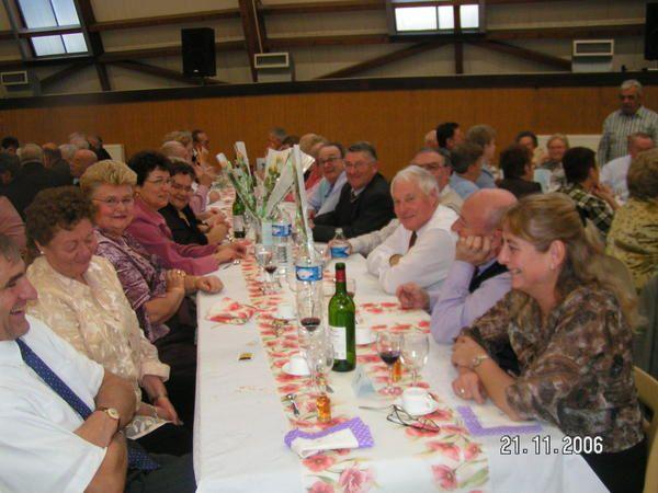 Album - Chantereine, l'Amicale des retraités de Chantereine, repas de fin d'année, 21 novembre 2006