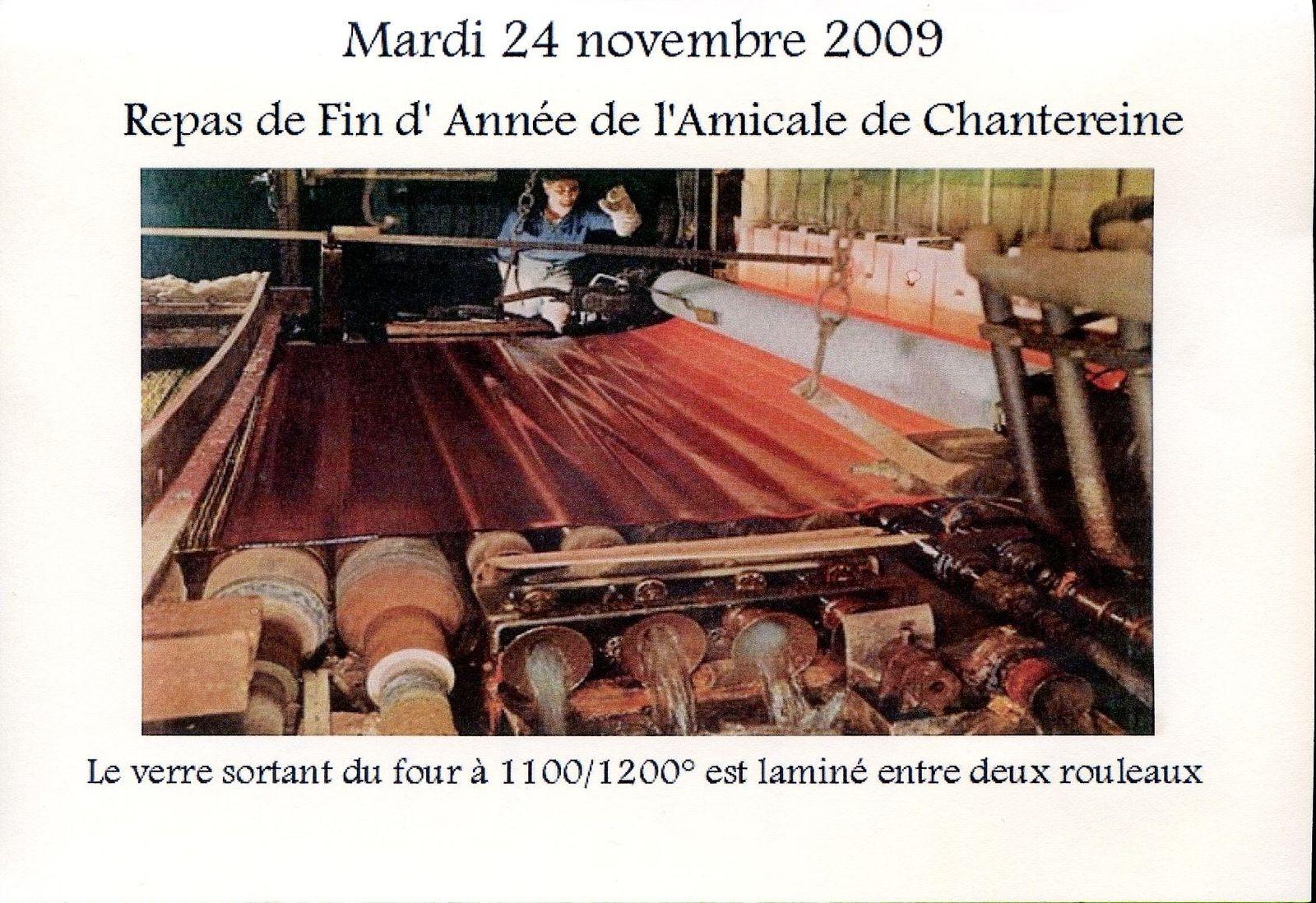 Album - Chantereine, l'Amicale des retraités de Chantereine, repas de fin d'année, 24 novembre 2009