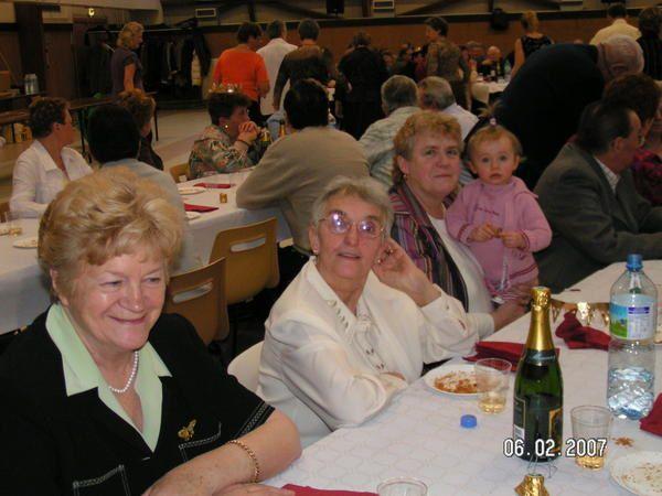 Album - Chantereine, l'Amicale des retraités de Chantereine, la galette des Rois le 6 février 2007