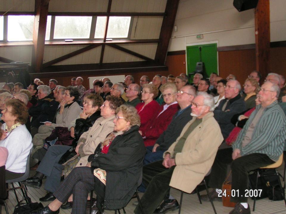 Album - Chantereine, l'Amicale des retraités de Chantereine, l'assemblée générale le 21 janvier 2007