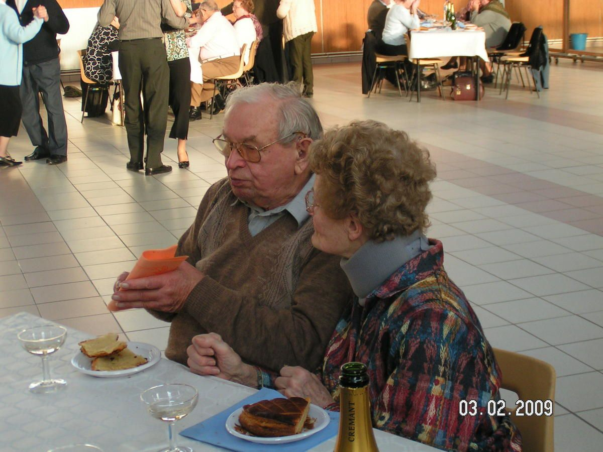 Album - Chantereine, l'Amicale des retraités de Chantereine, la galette des Rois le 3 février 2009