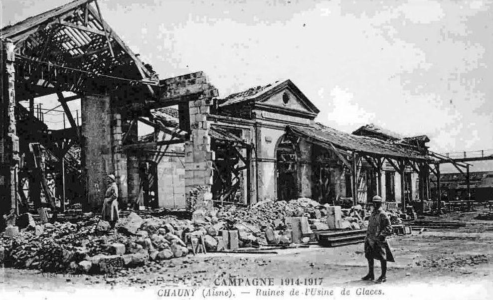 Album - Glacerie de Saint-Gobain à Chauny (Aisne)