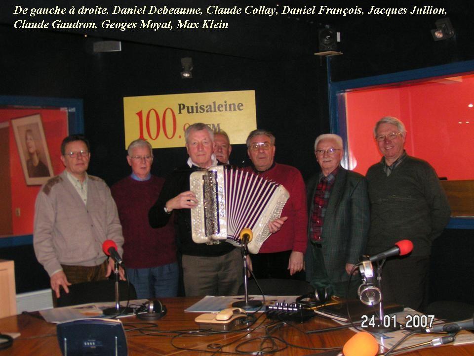 Album - Chantereine, la RETRO, à la radio Puisaléne à Carlepont ( Oise)