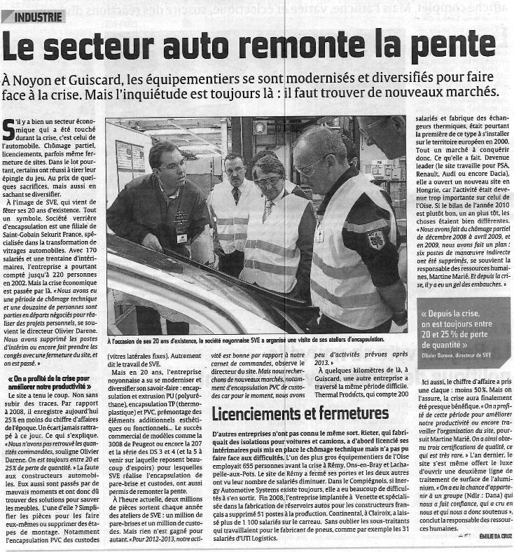 Album - la Société S.V.E à Noyon (Oise), 20 ans d'existence, 2 juillet 2011, les portes ouvertes