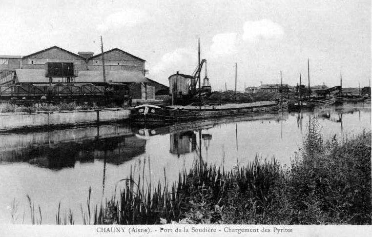Album - la ville de Chauny (Aisne), la Soudière de Saint-Gobain