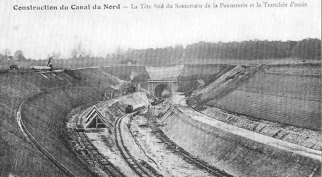 Album - v la construction du Canal du Nord
