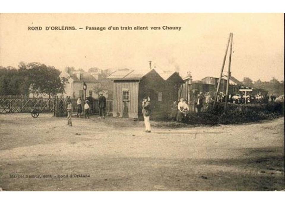 Album - groupe Saint-Gobain, la ligne de chemin de fer de Saint-Gobain à Chauny (Aisne)